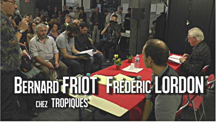 Bernard Friot et Frédéric Lordon à Pernety (2)