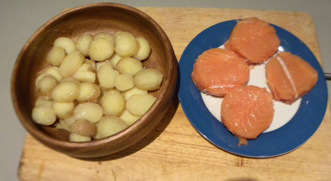 Médaillon saumon pomme de terre