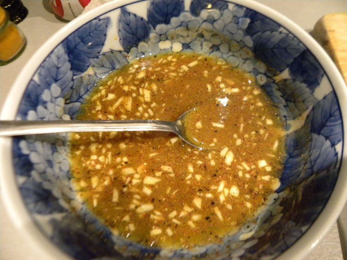 Roti de porc laqué au miel et épices