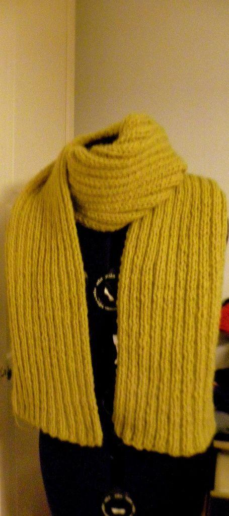 Echarpe et bonnet facile à faire... pour Femme