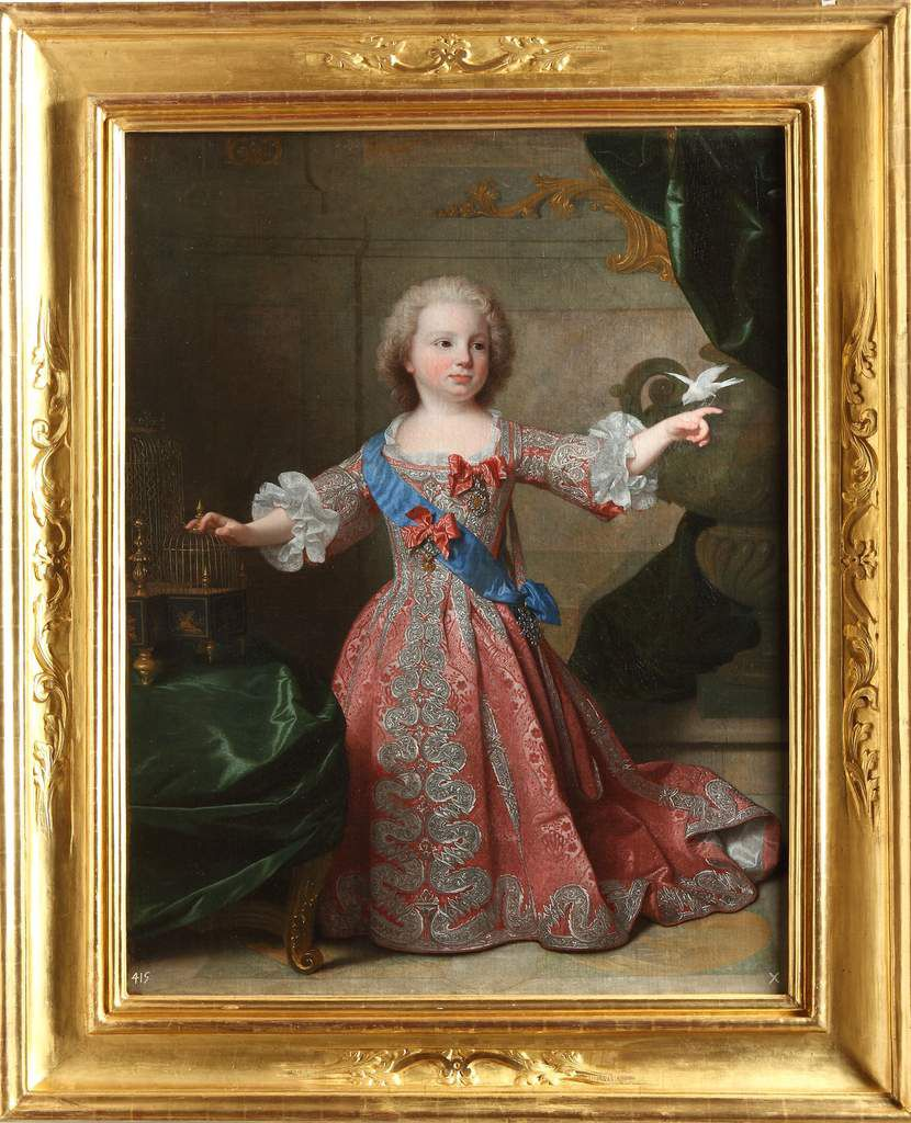 Jean Ranc, portrait de l'infant Felipe de Bourbon. 1724. Ségovie, Palais de La Granja de San Ildefonso © Patrimonio Nacional
