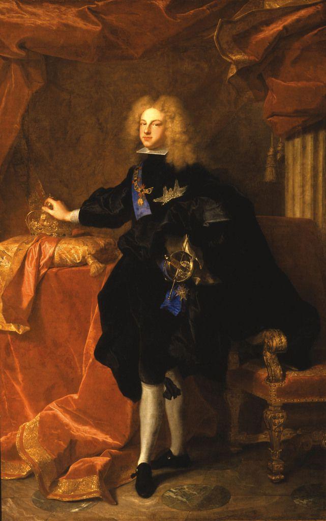 Hyacinthe Rigaud, portrait de Philippe V d'Espgane, 1700-1701, Versailles, musée national du château © Stéphan Perreau