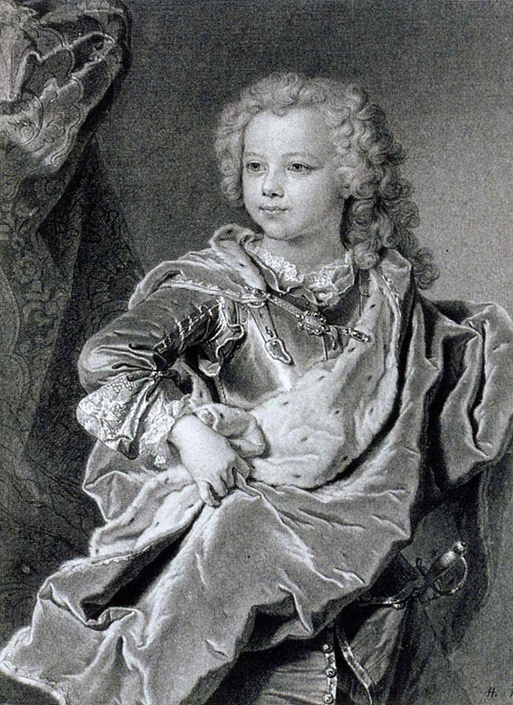 Hyacinthe Rigaud et atelier, portrait du duc de Montfort. Vienne, Graphische Sammlungen Albertina © Albertina museum