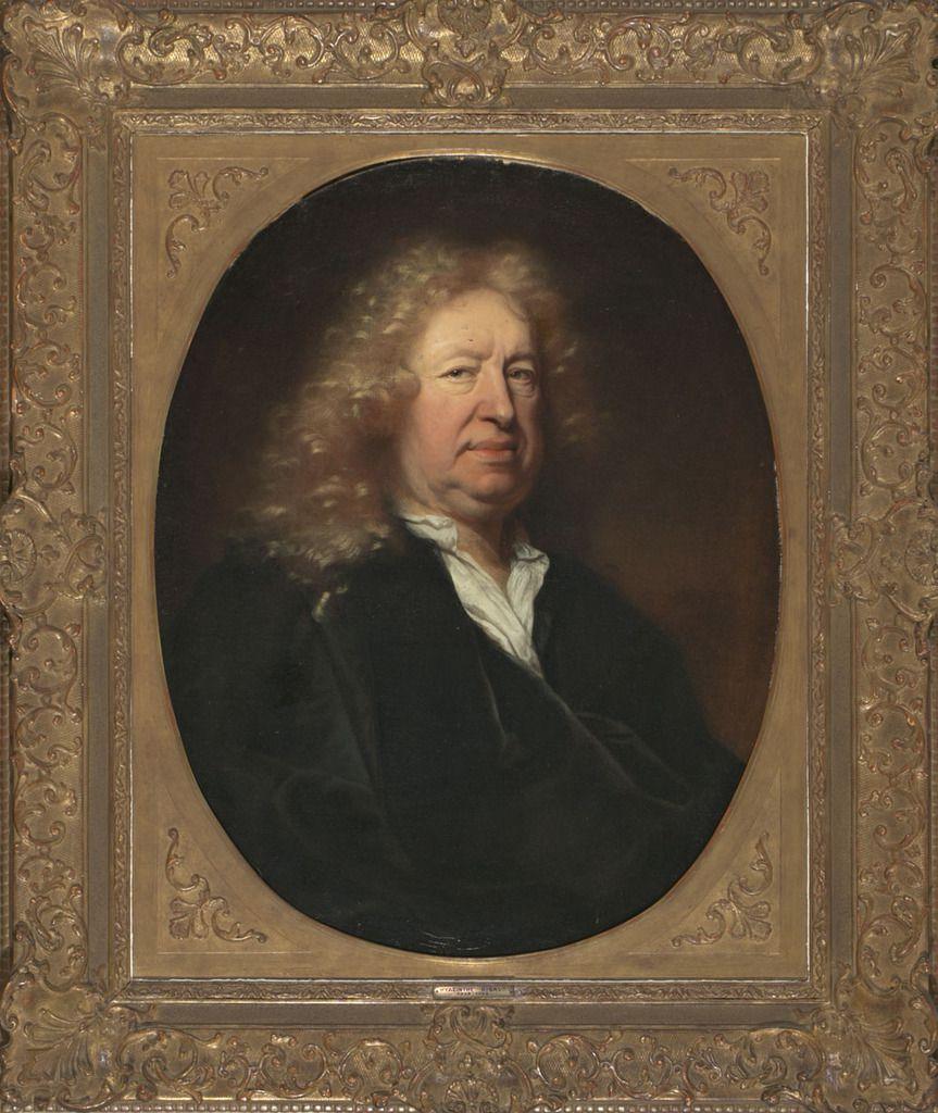 Hyacinthe Rigaud, portrait d'Everhard Jabach, 1688. Coll. part. © Balclis, Barcelone.