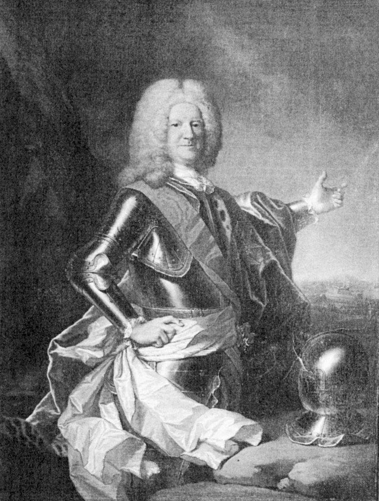 Adrien Leprieur, portrait de Charles Gaspard de Contades. Château de Montgeoffroy © photo documentation du musée du Louvre