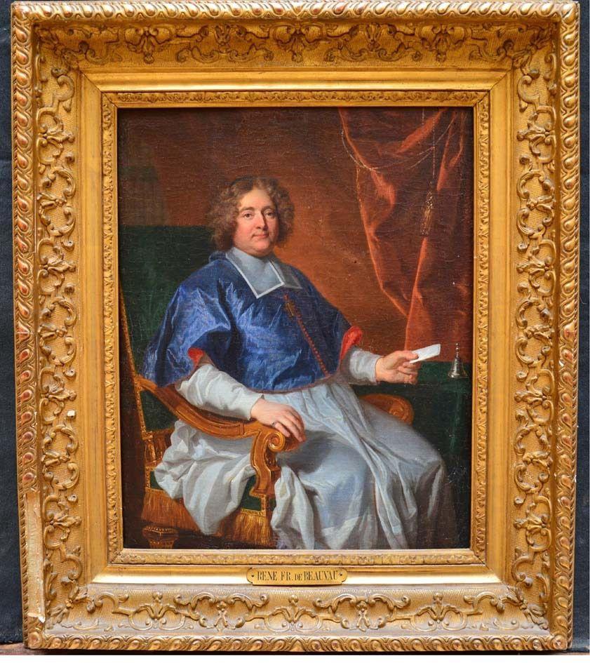 Atelier d'Hyacinthe Rigaud, portrait de l'évêque de Saint Papoul, v. 1695-1700, Coll. priv. © d.r.