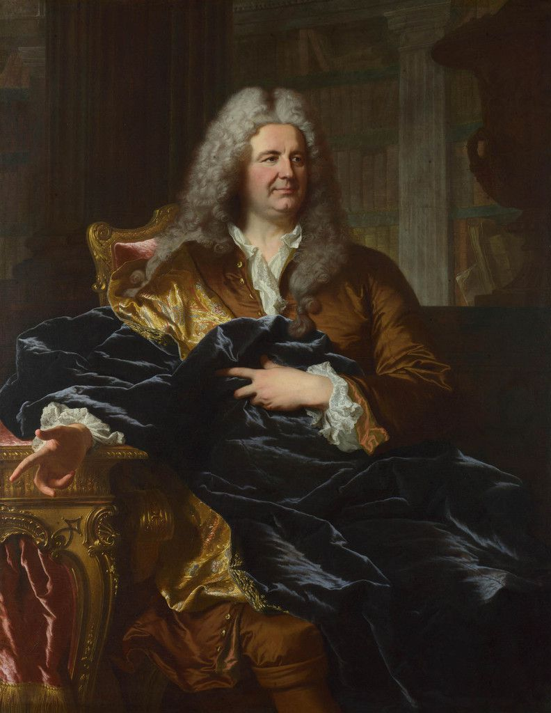 Hyacinthe Rigaud, portrait d'Antoine Pâris. Londres NPG @ photo NPG