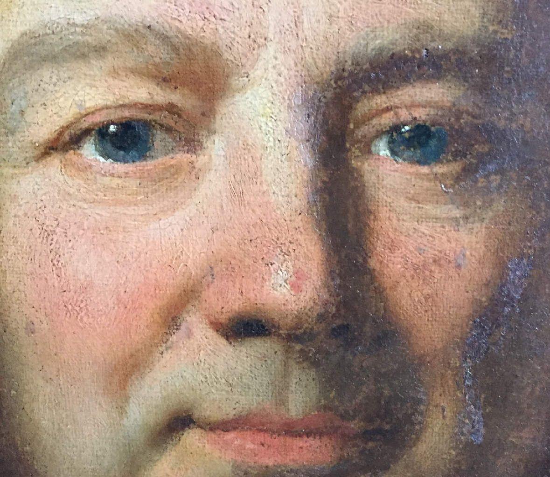 Hyacinthe Rigaud et atelier, portrait d'homme, v. 1698 (détail). Coll. priv. © d.r.