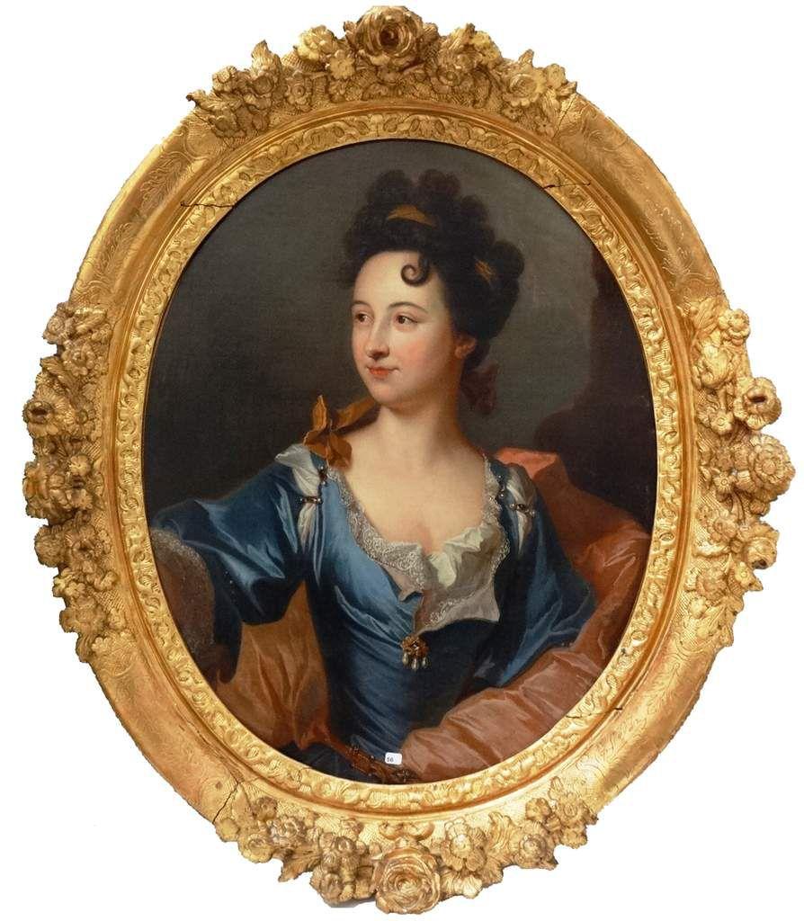 Hyacinthe Rigaud et atelier, portrait de femme, v. 1699. Coll. priv. © d.r.
