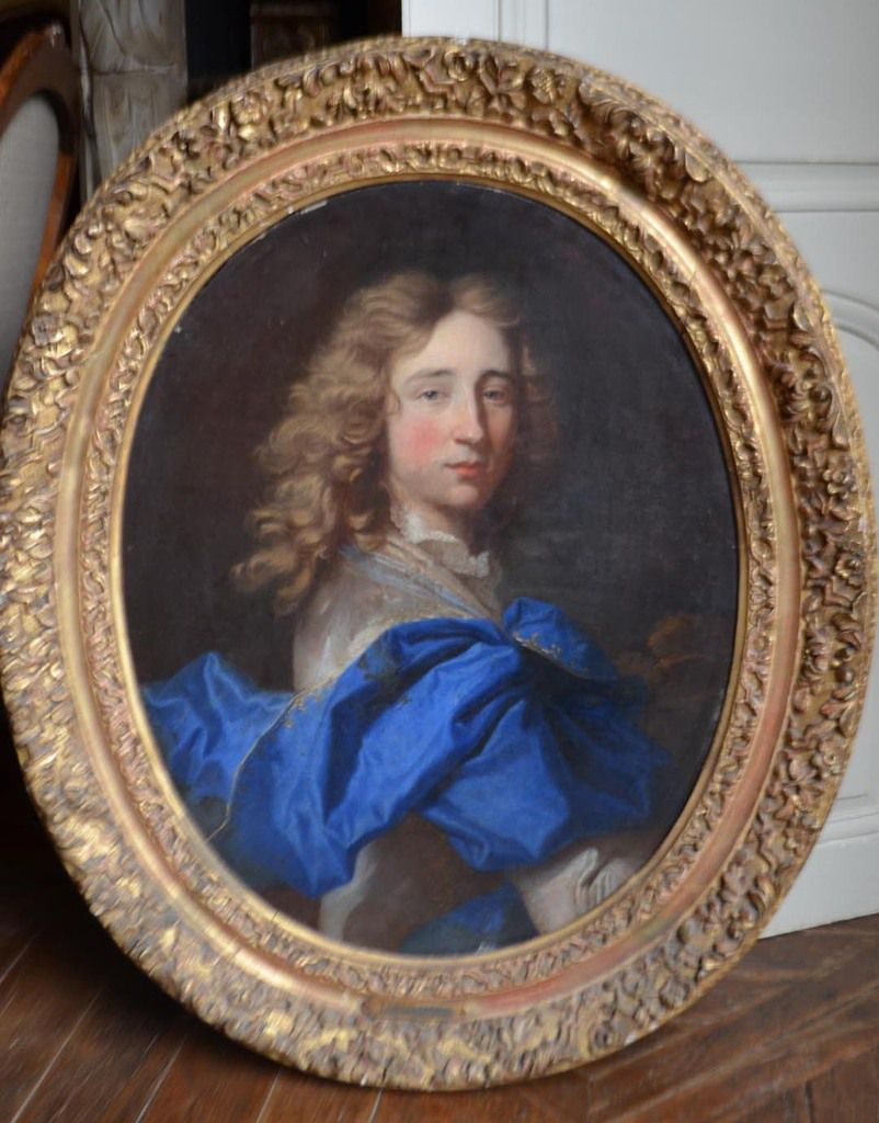 Hyacinthe Rigaud, portrait de jeune homme, v. 1690. France, collection privée © photo Stéphan Perreau