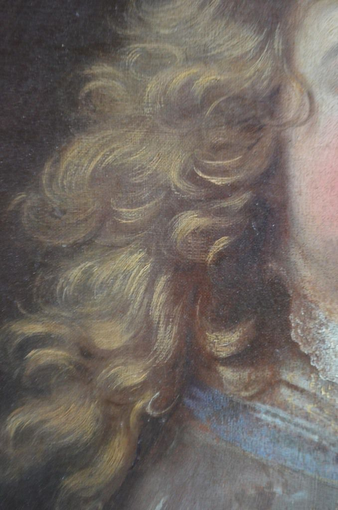 Hyacinthe Rigaud, portrait de jeune homme, v. 1690. France, collection privée © photo Guillaume Bouchayer