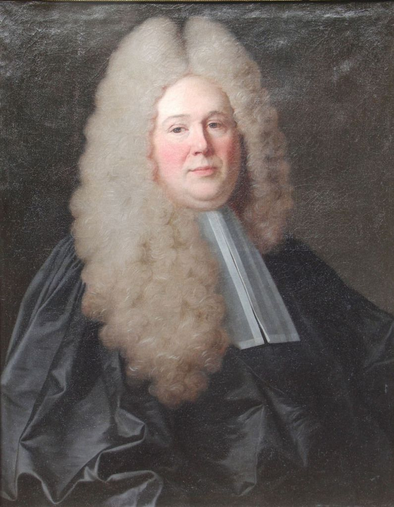 Jean Ranc, portrait de Jan Olivier, 1715 (après restauration). Collection privée © photo Stéphan Perreau