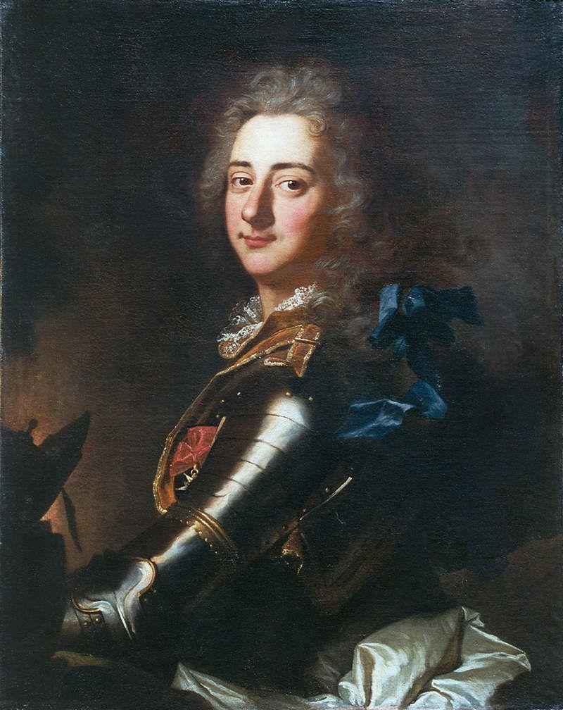 Portrait d'Alexandre de Labadie d'Aumay par Hyacinthe Rigaud (1706) - France, collection particulière