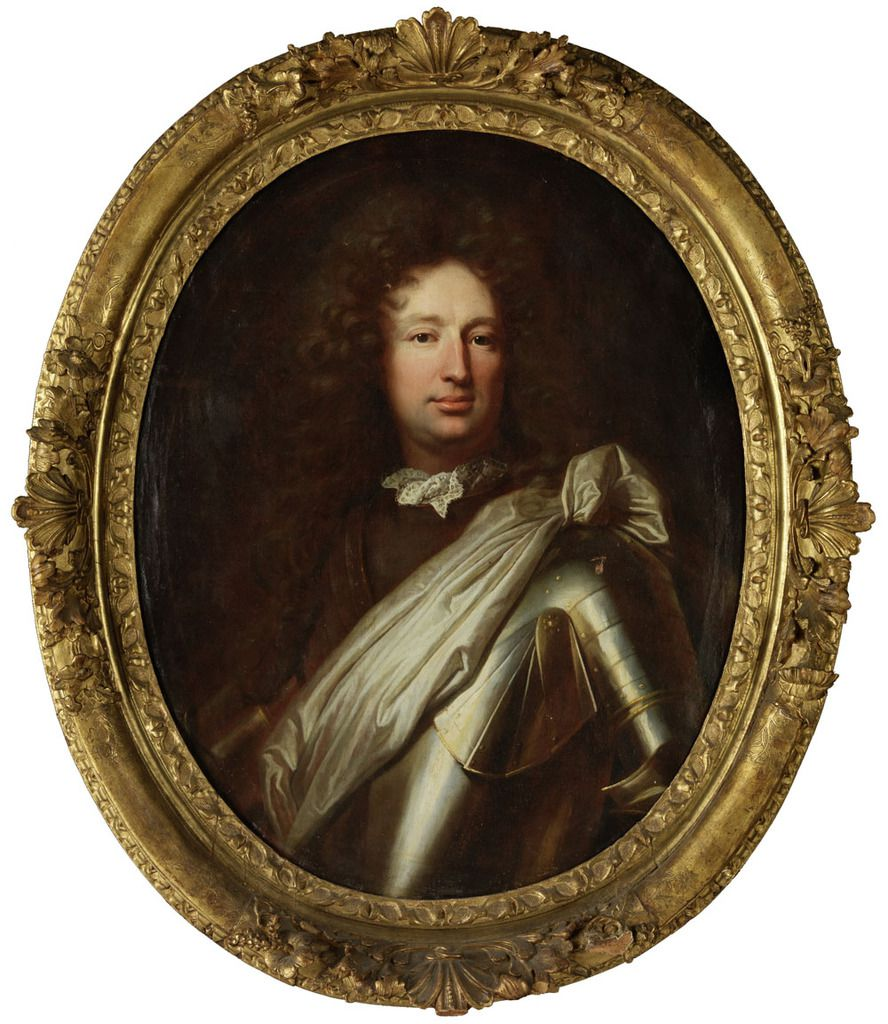 Hyacinthe Rigaud, portrait de Franz Laurenz von Greder, 1691.  Paris, collection P. © photo galerie Fischer
