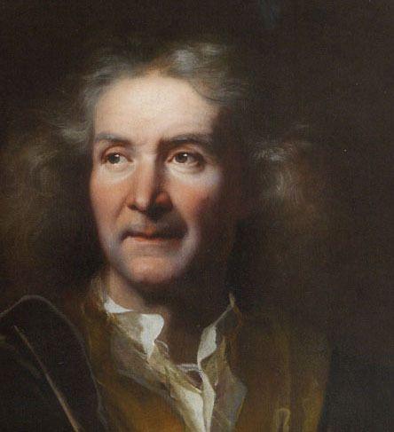 Hyacinthe Rigaud, Portrait d'homme âgé - v. 1690 - détail