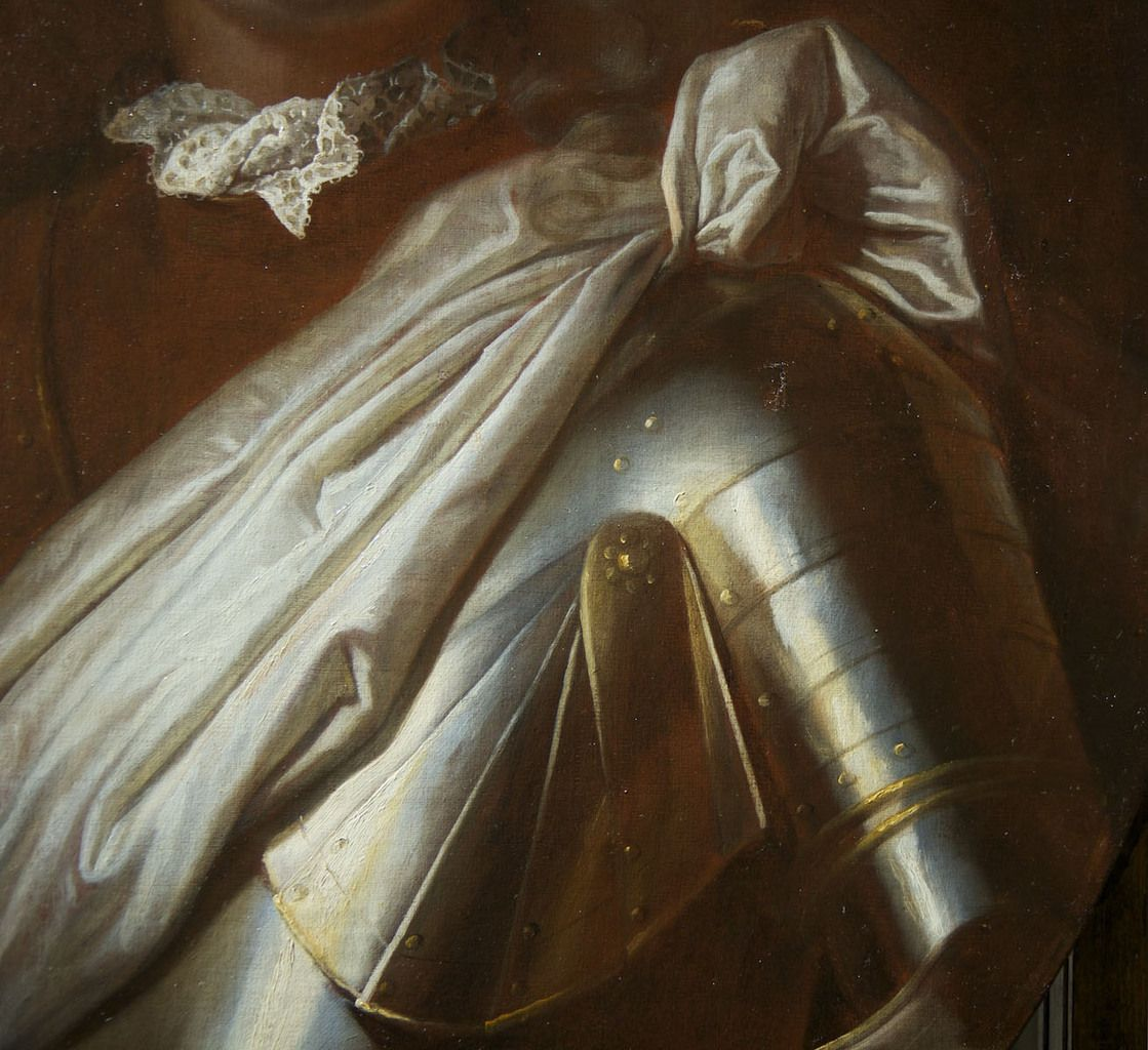 Hyacinthe Rigaud, portrait de Franz Laurenz von Greder, 1691 (détail).  Paris, collection privée © photo C.P.