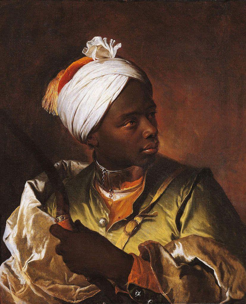 Hyacinthe Rigaud - portrait de jeune maure. v. 1710. Dunkerque, musée des Beaux-arts © Musée des Beaux-arts de Dunkerque
