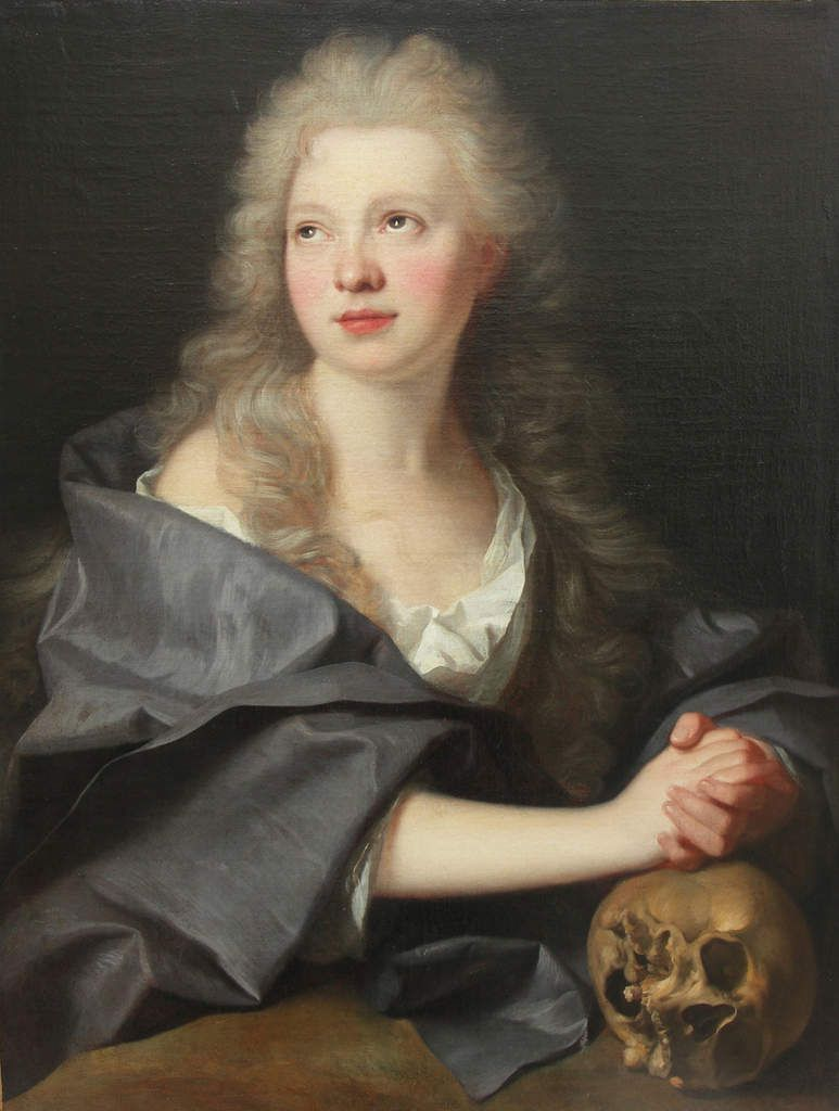 Hyacinthe Rigaud, Sainte Madeleine pénitente, v. 1710. Collection privée © photo Stéphan Perreau