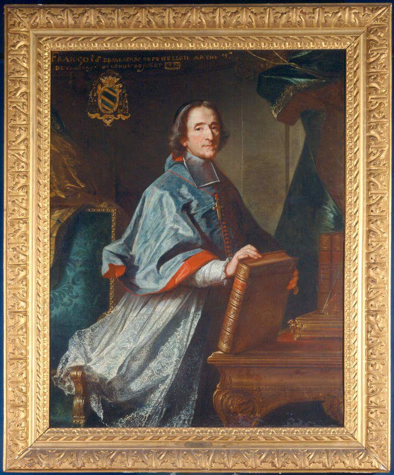 Claude Bailleul, portrait de François de Salignac de La Mothe-Fénelon, 1718. Périgueux, musée Périgueux, musée des Beaux-arts. Inv. 75-1 © mba