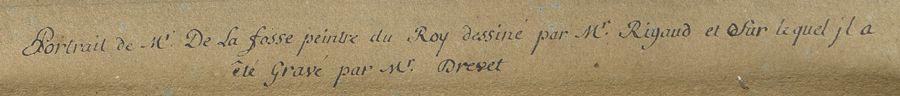 Hyacinthe Rigaud et Monmorency, portrait du peintre Charles de La Fosse, v. 1700-1708 (détail). Coll. priv. © Daguerre svv