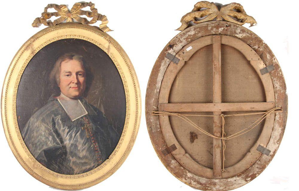 Hyacinthe Rigaud et Delaunay, portrait d'André Hercule de Fleury, évêque de Frejus, 1706. Coll. priv. © photos Blanchy & Lacombe svv