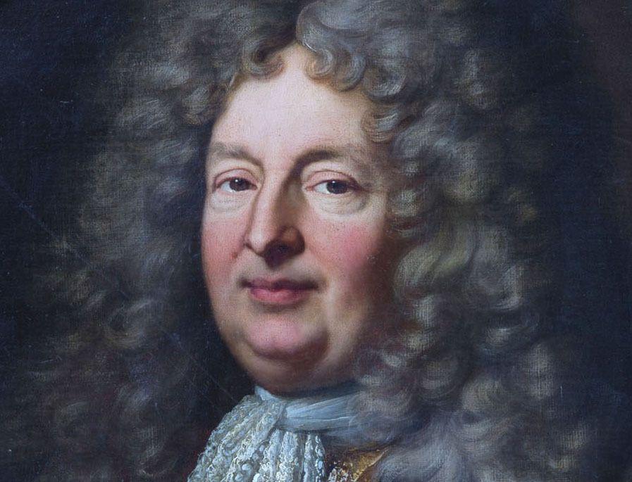 Hyacinthe Rigaud, portrait de Jean Antoine II de Mesmes, comte d'Avaux, 1702 (détail). France, coll. priv. © Galartis