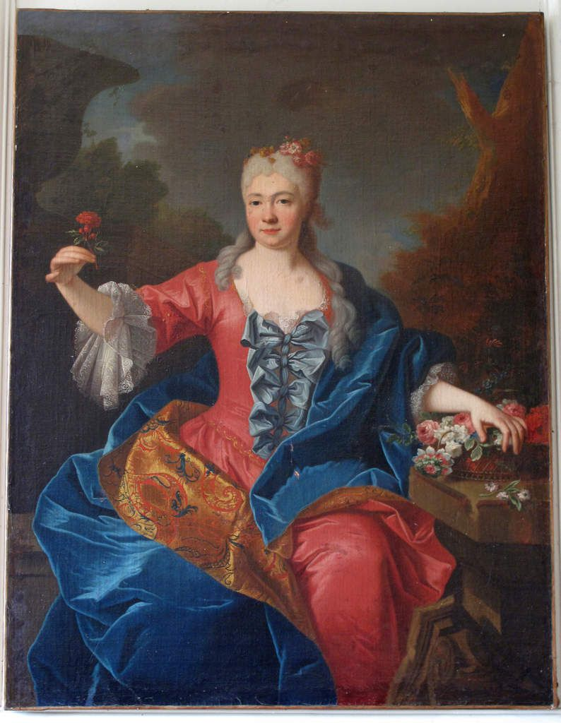 Jean Ranc, portrait d'Hélène Monique de Langle, 1697, coll. priv. © photo Stéphan Perreau