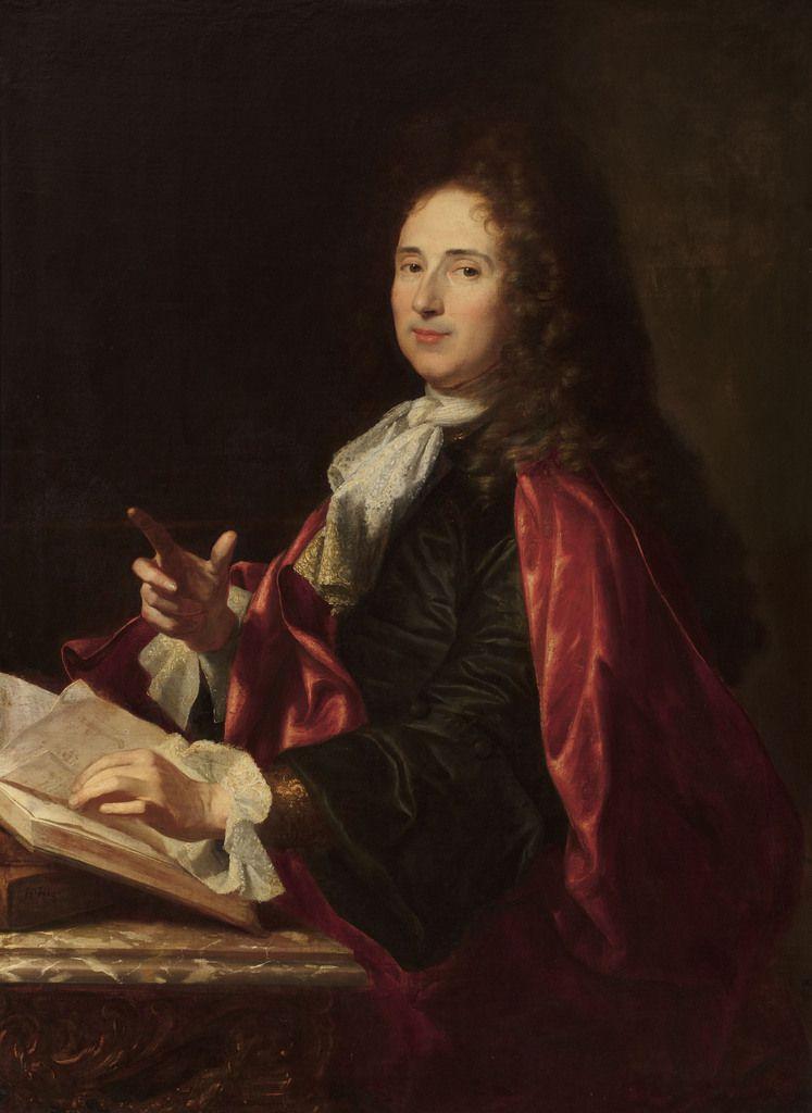 Hyacinthe Rigaud, portrait d'Alexandre Passerat, v. 1700. coll. priv. © ARA / Stéphan Perreau