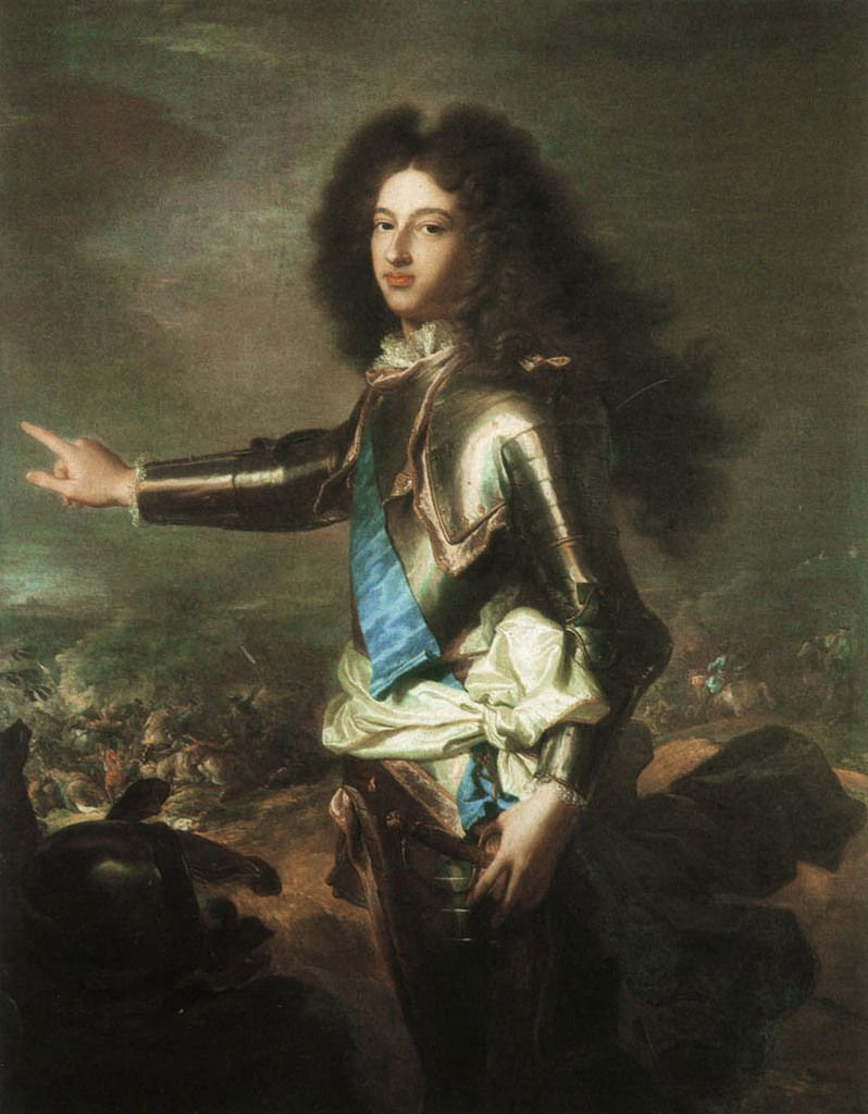 Hyacinthe Rigaud, portrait du duc de Bourgogne, v. 1702-1703. Kenwood House, The Iveagh Bequest © The English Heritage