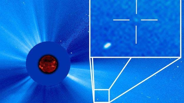 Soho nous montre que de nombreuses comètes percutent le soleil