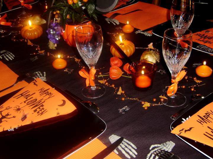 Decoration De Table Halloween : Repas d halloween