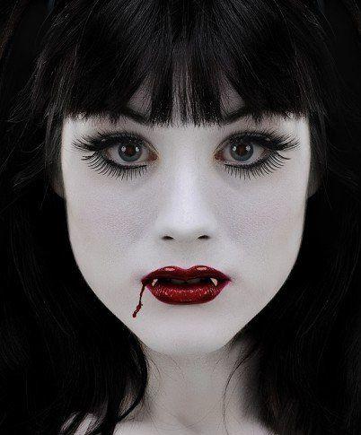 Envie d 39 un maquillage d 39 halloween - Maquillage vampire femme adulte ...