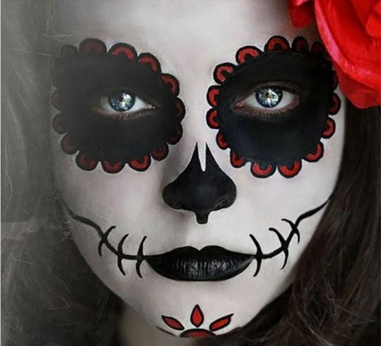 maquillage halloween ado