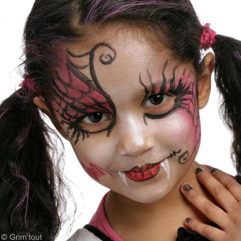 Maquillages d 39 halloween pour enfants - Maquillage facile pour halloween ...