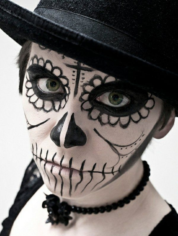 Maquillage pour hommes pour halloween - Maquillage pour halloween ...