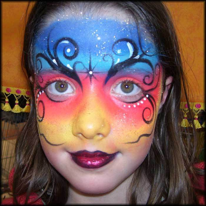 Maquillages d 39 halloween pour enfants - Modele maquillage princesse ...