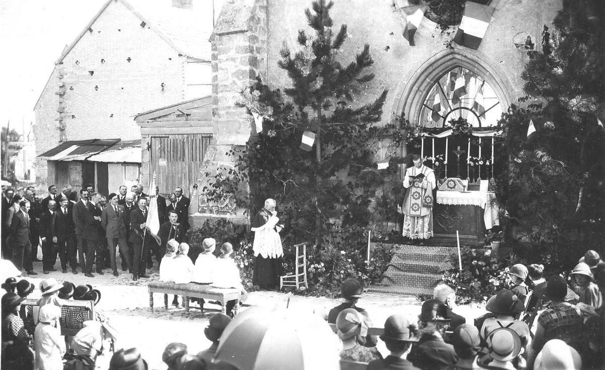 Messe du 29 août 1926.