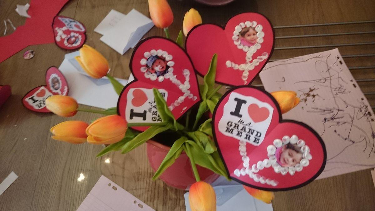 F te des grands m re 5 mars 2017 le blog de christine assistante maternelle la petite vadrouille - Fete des grand mere 2017 ...