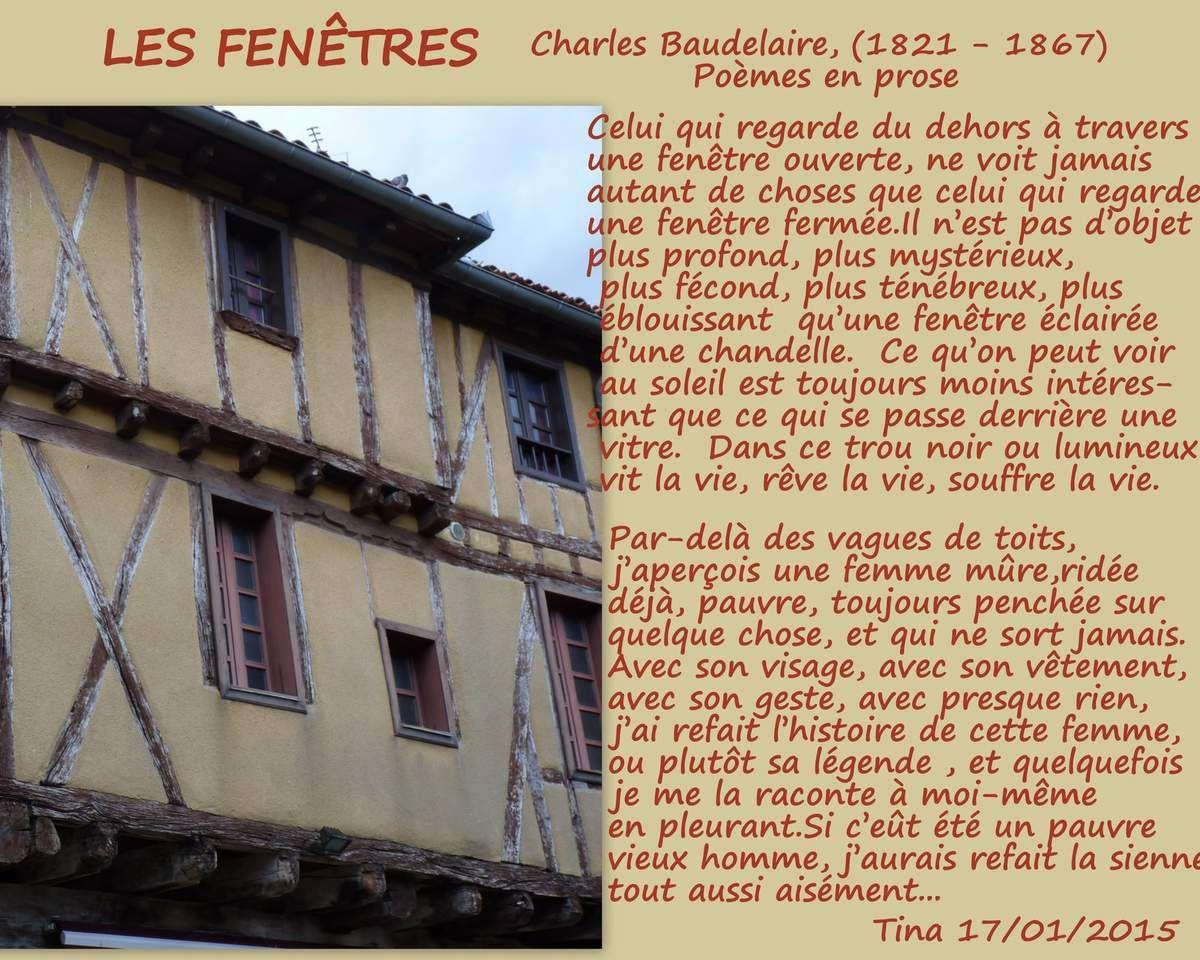 LES FENÊTRES - Charles Baudelaire