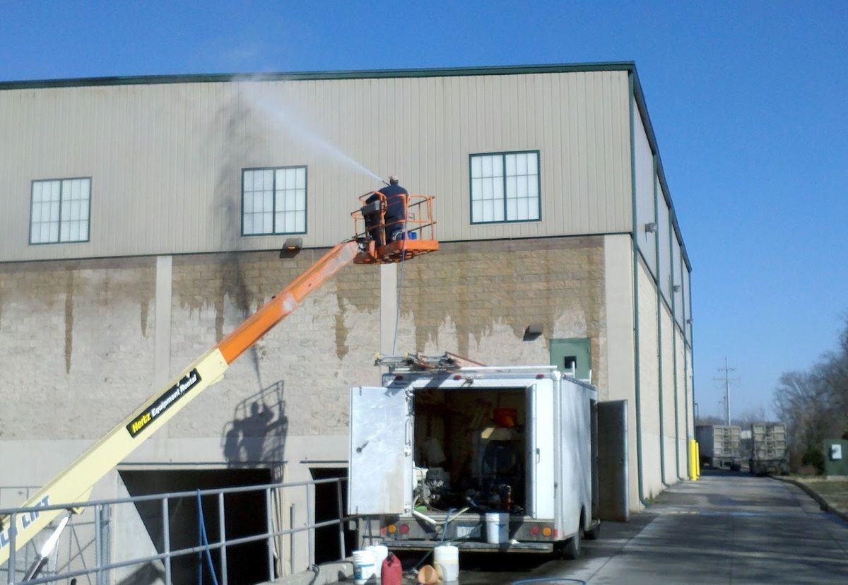 Commercial Pressure Washing OHIO - Commercial Painting Services