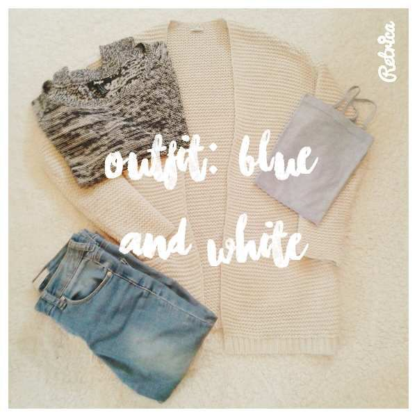 [Outfit] Blue &amp&#x3B; White