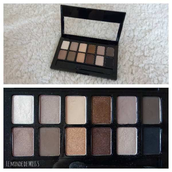 La palette The Nudes de Maybelline