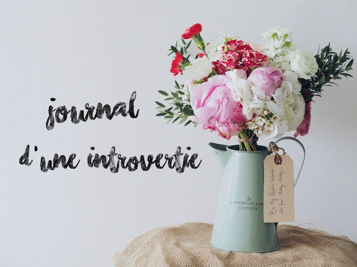 #Journal d'une introvertie (6)