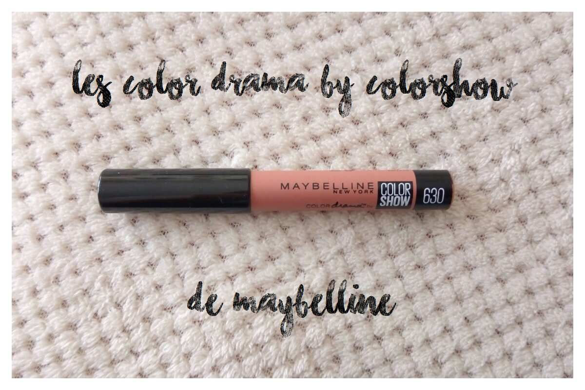 Les Color Drama by Colorshow de Maybelline