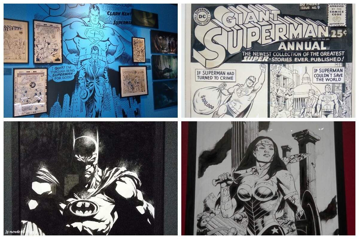 Quelques photos de l'expo sur Cy Towmbly / sur DC Comics