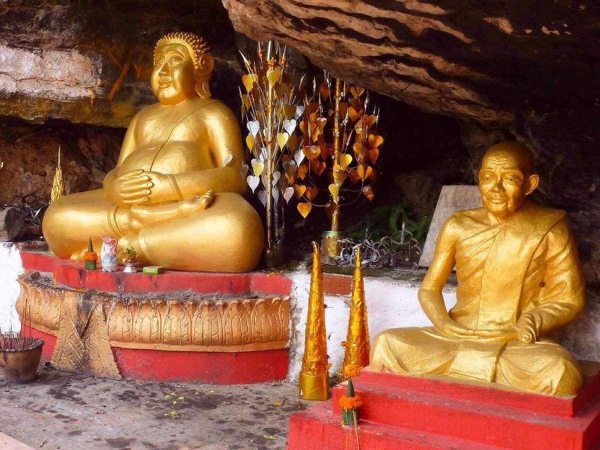 Luang Prabang : vat dorés, moines en robe safran, maisons coloniales, marchés, scènes de rue ...