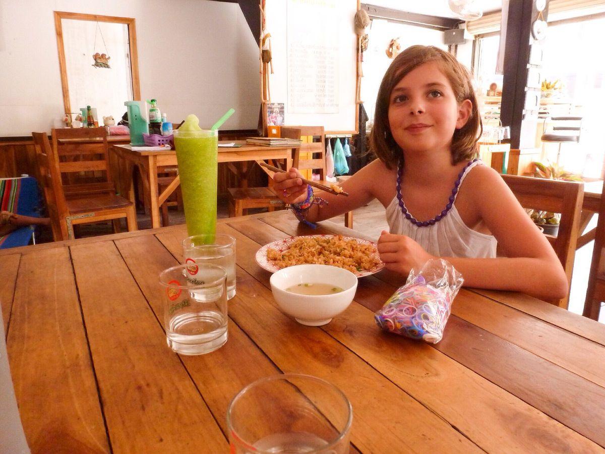 Villa Merry et Bamboo restaurant, notre quotidien pendant une semaine à Luang Prabang.