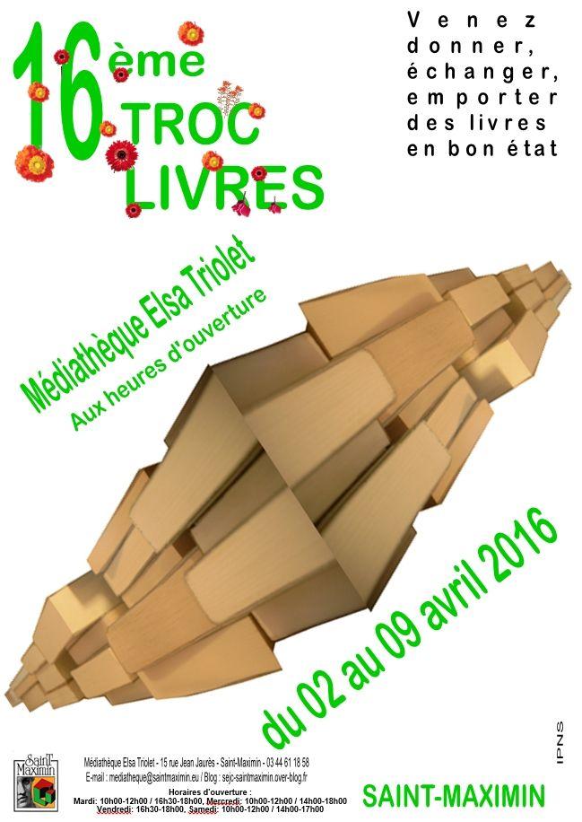 16ème TROC-LIVRES