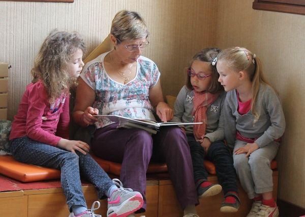 Merci aux enfants, aux parents et aux bénévoles : Sabine, Monique, Paula et Anick R.