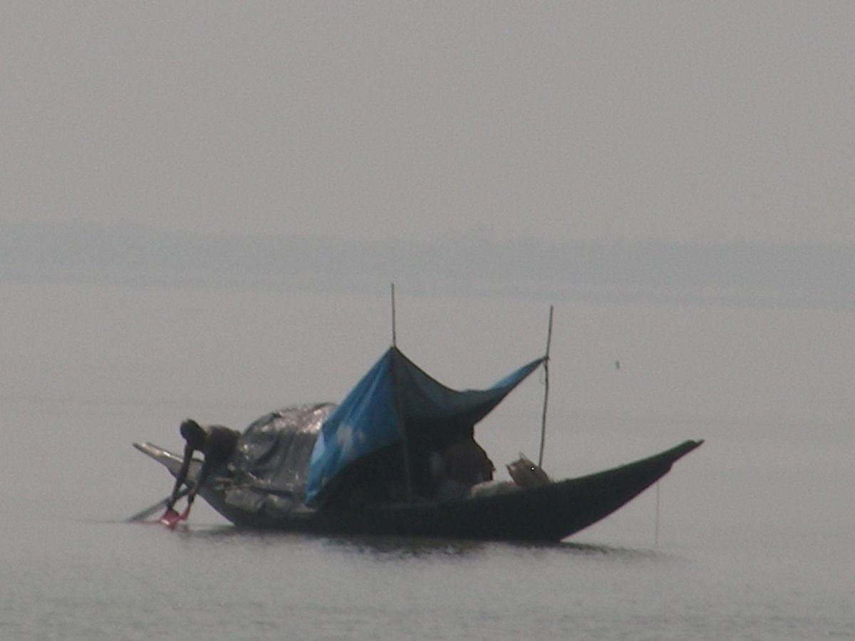 pêcheurs dans le golfe du Bengale